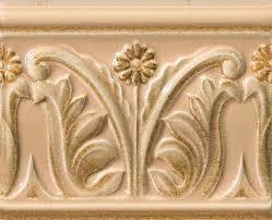 <b>Rialto</b> Crema Listello Floreale Painted 12*15 <b>бордюр VALLELUNGA</b>