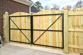 metal gate frame board on arched back double for wood fence canada