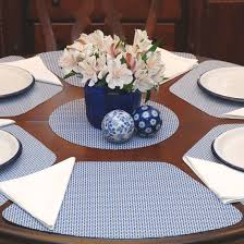 interior oval quilted placemats round tables for wedgern blue table placemat placemats for round tables