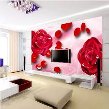 Small Picture Online Buy Wholesale modern wall paper designs flowers from China