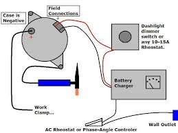 anyone welded auto alternator for the rheostat i know the image says 10 15a i say this because it has to be able to handle whatever power your battery charger is able to output