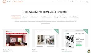 free template designs 175 free responsive email templates practical ecommerce