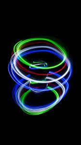 Download wallpaper 938x1668 ball, neon ...