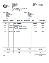 Quotation Proforma Format Quotation Template Invoice Template Sample Invoice