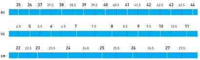 Shimano Shoe Size Chart Shimano Footwear Size Chart