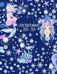 Five Year Planner: 2020-2024 Monthly Calendar - Ice Queen Mermaid: Reid,  Myra: 9781693113222: Amazon.com: Books