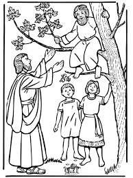 Send the zacchaeus take home sheet home with the children to encourage parents to reiterate the also, sending home the coloring pages with the take home sheet provides parents with much needed. Zacchaeus And Jesus New Testament Jesus Coloring Pages Sunday School Coloring Pages Bible Coloring Pages