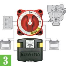 blue sea battery switch wiring diagram blue image two batteries two chances boating world on blue sea battery switch wiring diagram