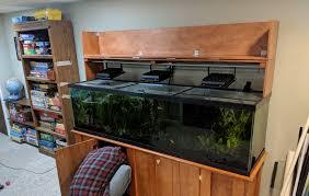 125 Gallon Aquarium Light Hood Diy Hood For 125 Gallon Aquarium Album On Imgur