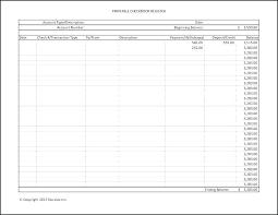 Checkbook Excel Bank Register Business Printable Template