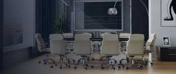 conference room chairs with casters. Furniture-white-leather-swivel-chair-with-chrome-metal- Conference Room Chairs With Casters E