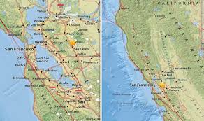 Current and future radar maps for assessing areas of precipitation, type, and intensity. San Francisco Earthquake Was Bay Area Hit By Earthquake Just Now Usgs Maps Latest World News Express Co Uk