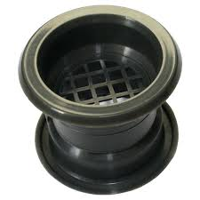 mini circle collar air vent grille door ventilation cover graphite color circular covers small duct cover fits 2 flex plastic round white circular vent