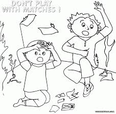 Small Picture Fire Safety Coloring Pages Es Coloring Pages