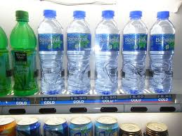 Bottled Water Vending Machine Magnificent FileHK TST Space Museum Soft Drink Vending Machine Bonaqua Plastic