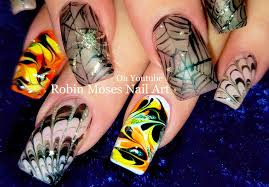 Robin Moses Nail Art: The Lazy Girls Guide to learning Hand ...