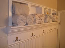 Recessed Shelves Bathroom Remodelaholic Creating Beautiful Storage Space Within Bathroom Walls