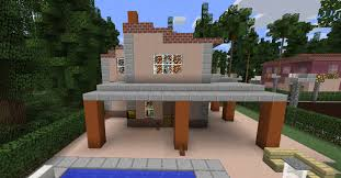 A cute pink house, room pink and bathroom pink to improve your minecraft kawaii world! Small Pink Suburban House Blueprints For Minecraft Houses Castles Towers And More Grabcraft