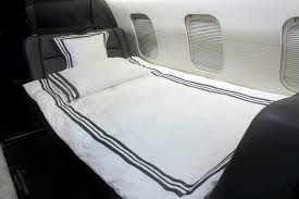 corporate jet bed