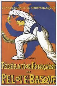 Sport Basque Poster | Pays basque, Pelote basque, Affiches de voyage
