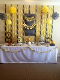 Bumble Bee Baby Shower Decorations Bumble Bee Baby Shower Bumble Bee Baby Shower Party Favors