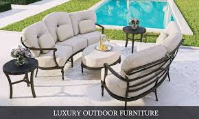 Designer Patio Table La Veranda Home Garden Elegant And Luxurious Outdoor