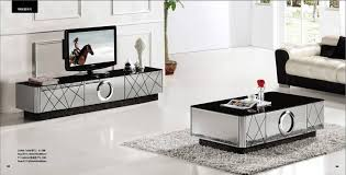 modern gray mirror modern furniture coffee table and tv cabinet set pertaining to modern living room