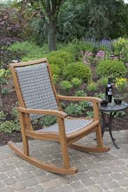 rocking chairs Lowes Chaise Lounge Garden Treasures Patio