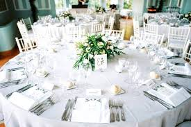Round Table Settings For Weddings Wedding Round Table Settings Magdalene Project Org