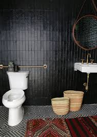 Eclectic Bathroom Simple Tribal Black Bathroom Kohler Ideas