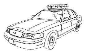 Small Picture Printable 29 Police Car Coloring Pages 6108 Police Car Coloring