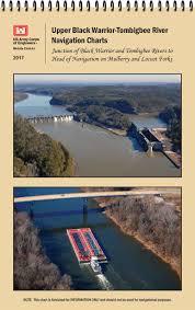 Black Warrior Tombigbee River Upper Navigational Chart Book