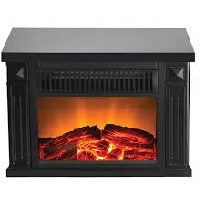 com warm house tzrf 10344 zurich tabletop retro electric fireplace um wood print finish home kitchen