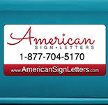 american sign letters. Modren American Car Magnets U0026 Magnetic Signs To American Sign Letters