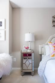 Pink Chair For Bedroom This Bloggers Bedroom Proves Hot Pink Isnt Just For Teenagers