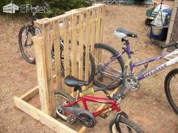 wooden pallets as bike racks5