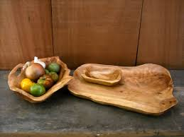 large serving platter with bowl and tapas plate