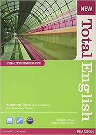 New <b>Total English Pre</b>-<b>Intermediate</b> Students' Book with Active Book ...