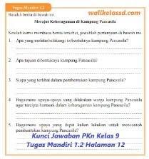 Kunci jawaban pkn kelas 11 tugas mandiri 1.1 halaman 7. Kunci Jawaban Pkn Kelas 9 Tugas Mandiri 1 2 Halaman 12 Wali Kelas Sd