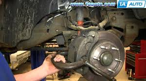 how to install replace front brake pads 2000 06 chevy suburban 2007 chevy silverado brake controller installation at 06 Chevy Tahoe Break Wiring Diagram