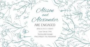 Online Announcement Cards Engagement Announcements And Party Invitation Templates