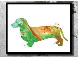 Dachshund Home Decor Dachshund