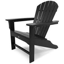 black outdoor furniture. trex outdoor furniture cape cod charcoal black plastic patio 21290 php