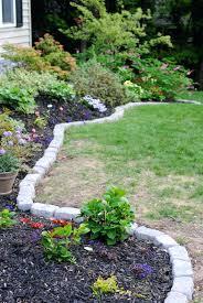 garden edging idea stone brick wooden garden edging ideas nz