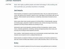 Wonderfull Design Orthodontic Assistant Resume Charming Idea