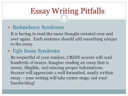 cbest california basic educational skills test ppt video online  essay writing pitfalls
