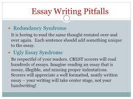 cbest california basic educational skills test ppt video online  essay writing pitfalls