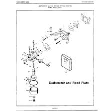 mercury outboard motor parts model 52004b sears partsdirect 4hp carbureto