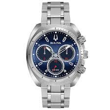 men s bulova watches h samuel bulova curv men s chronograph stainless steel bracelet watch product number 5293162