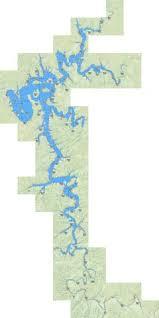 Barren River Lake Fishing Map Us_ky_00486429 Nautical